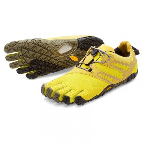 Vibram FiveFingers Womens V-Trail: Yellow / Black