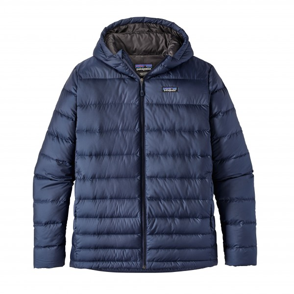 Patagonia Mens Navy Blue Hi-Loft Down Hoody