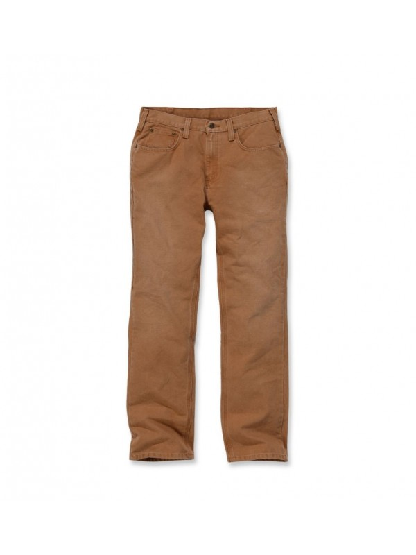 Carhartt Brown Weathered Duck Pants
