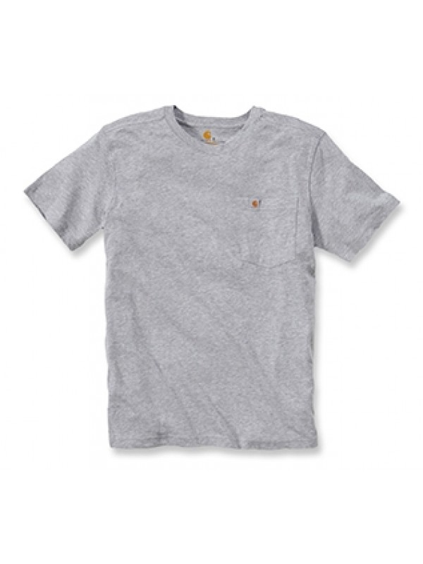 Carhartt Heather Grey Pocket T-Shirt