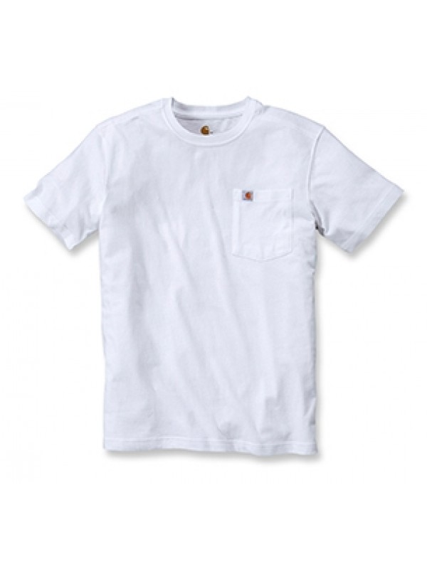 Carhartt White Pocket T-Shirt
