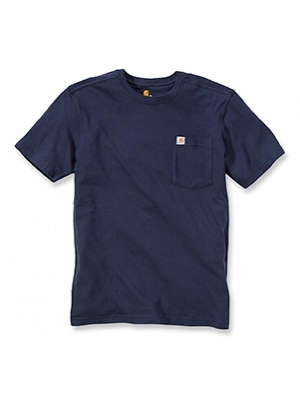 Carhartt Navy Pocket T-Shirt