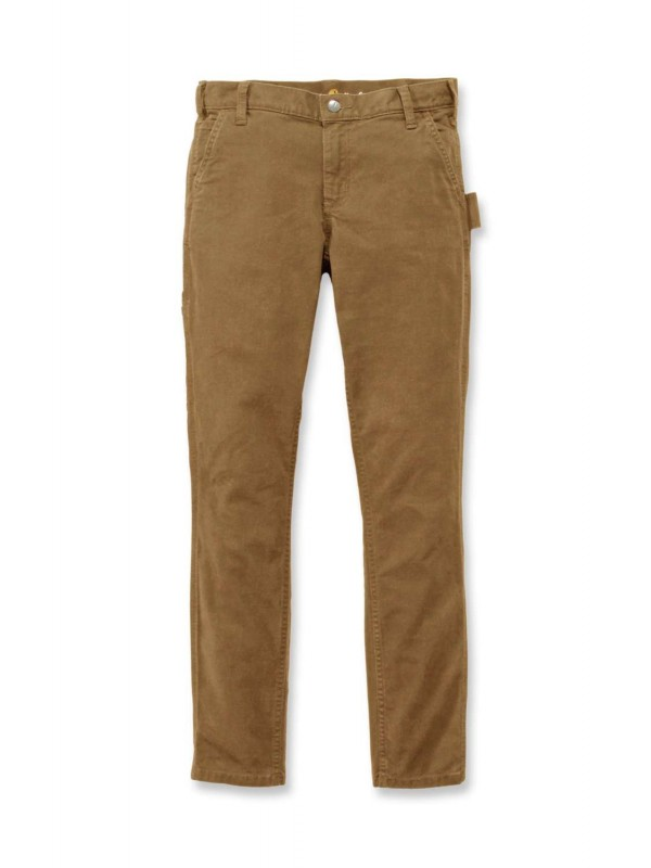 Carhartt Womens Slim-Fit Carpenter Pants: Yukon
