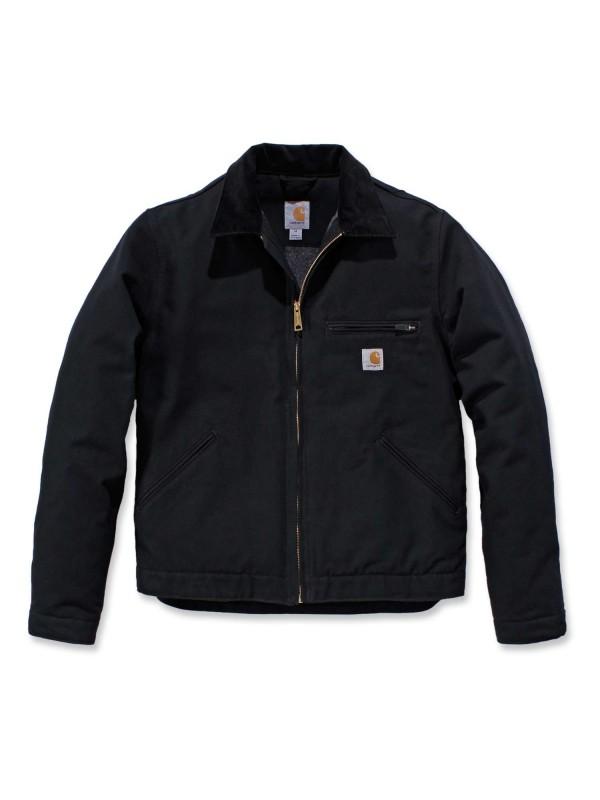 Carhartt Duck Detroit Jacket | Black