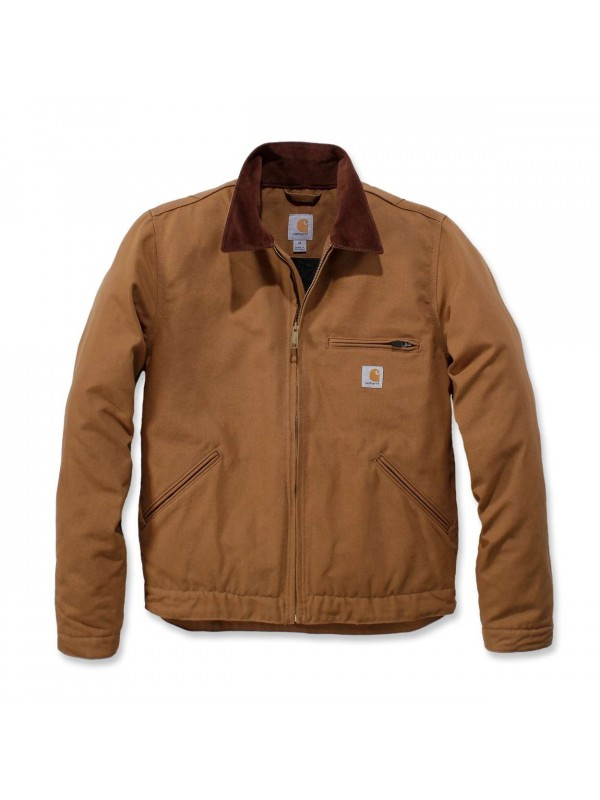Carhartt Duck Detroit Jacket | Brown