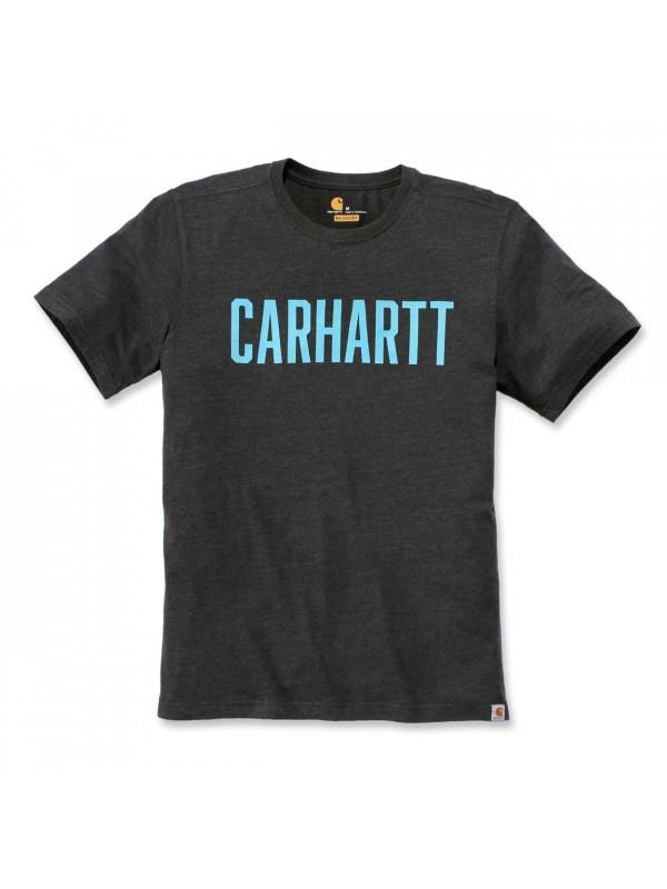 Carhartt Southern Block Logo T-Shirt : Carbon Heather