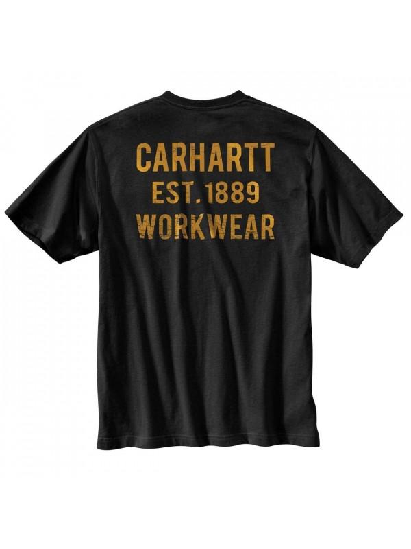 Carhartt Workwear Pocket Graphic T-Shirt : Black