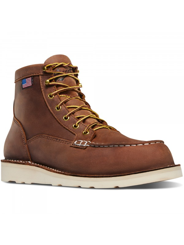 "Danner Bull Run Moc Toe 6"" Tobacco"