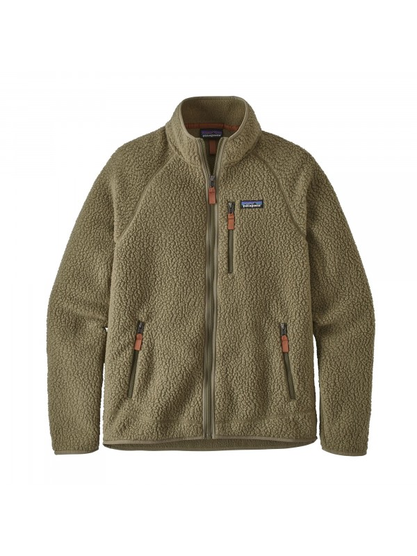 Patagonia Men's Retro Pile Fleece Jacket : Sage Khaki