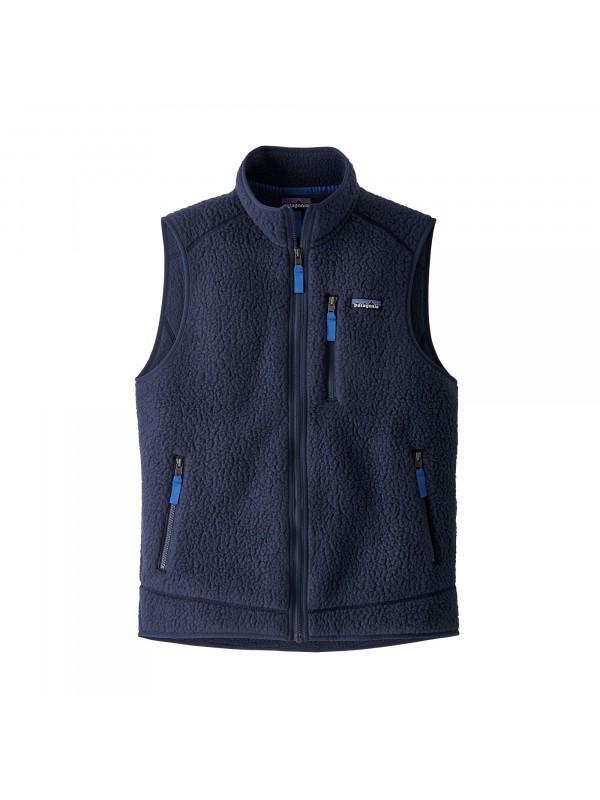 Patagonia Men's Retro Pile Fleece Vest : New Navy