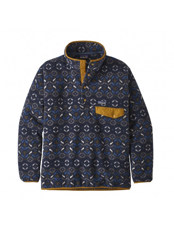 Patagonia Synchilla® Snap-T Fleece Pullover : Tundra Cluster: New Navy