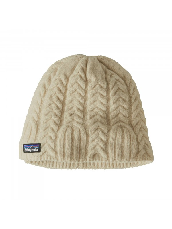 Patagonia Women's Cable Beanie : Birch White