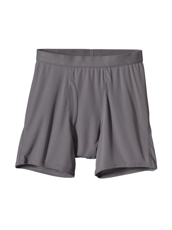Patagonia Men's Feather Grey Lightweight Boxer Briefs