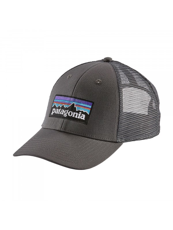 Patagonia P-6 LoPro Trucker Hat -Forge Grey w/Forge Grey (FEG)