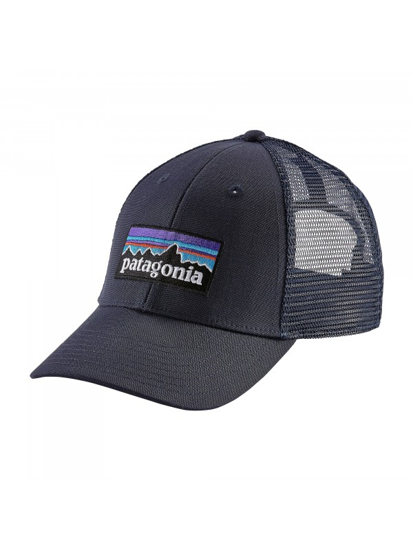 Patagonia P-6 LoPro Trucker Hat - Navy Blue w/Navy Blue (NVNV)