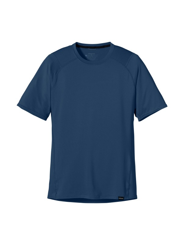 Patagonia Men's Glass Blue Capilene 1 Silkweight T-Shirt