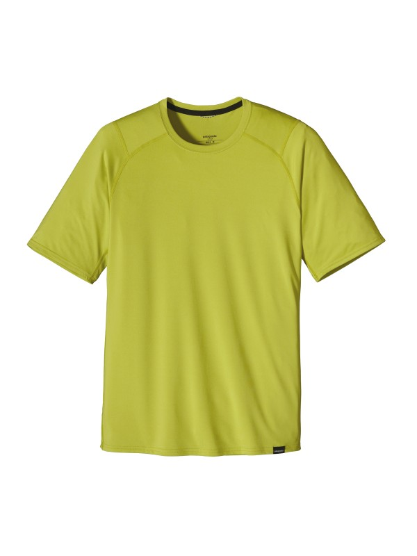 Patagonia Men's Capilene 1 Silkweight T-Shirt : Folio Green