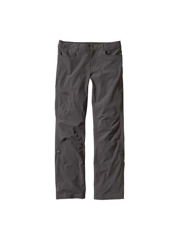 Patagonia Womens Quandary Pants : Forge Grey