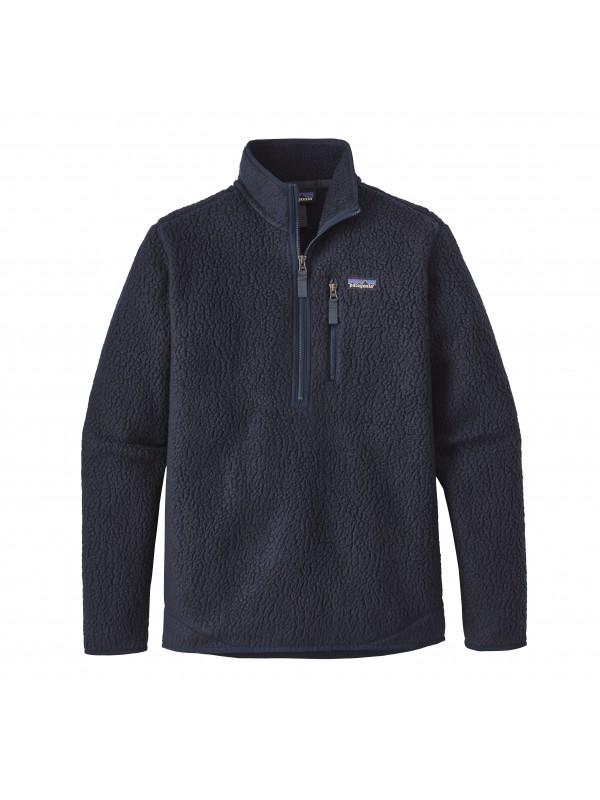 Patagonia Navy Blue Retro Pile Fleece Pullover