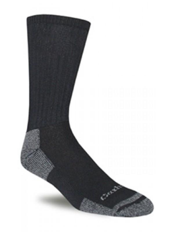 Carhartt  3 Pack All Season Cotton Crew Work Sock: Black