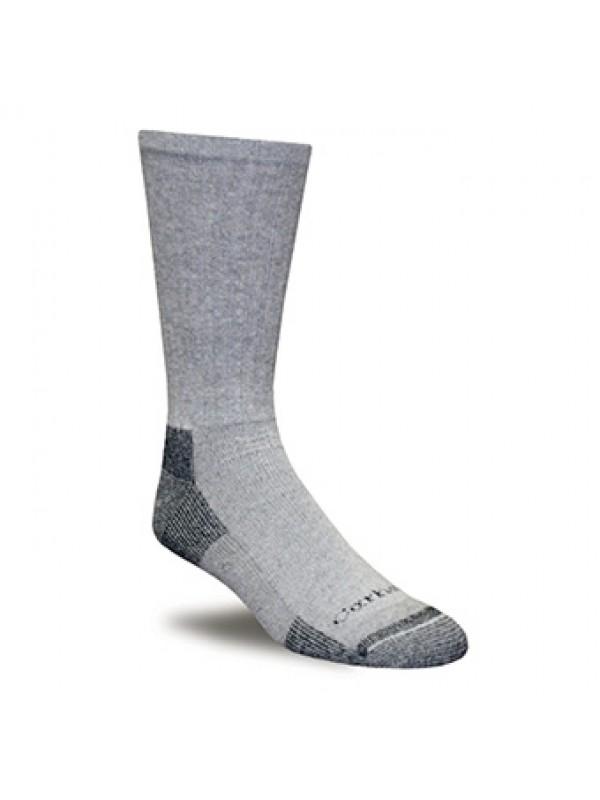 Carhartt  3 Pack: All Season Cotton Crew Work Sock Grey