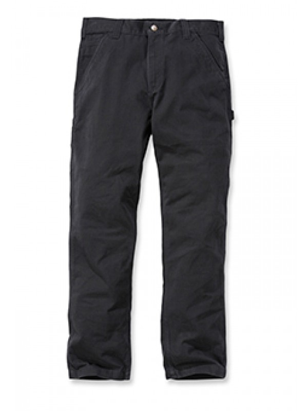 Carhartt Washed Twill Carpenter Pant : Black