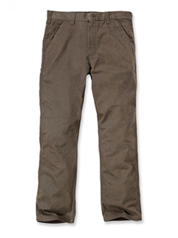 Carhartt Washed Twill Carpenter Pant : Dark Coffee