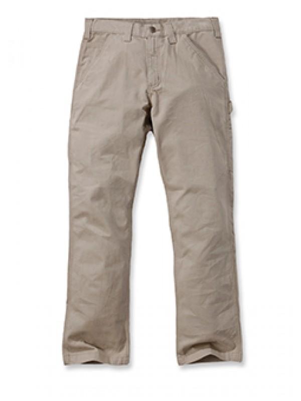 Carhartt Washed Twill Carpenter Pant : Field Khaki