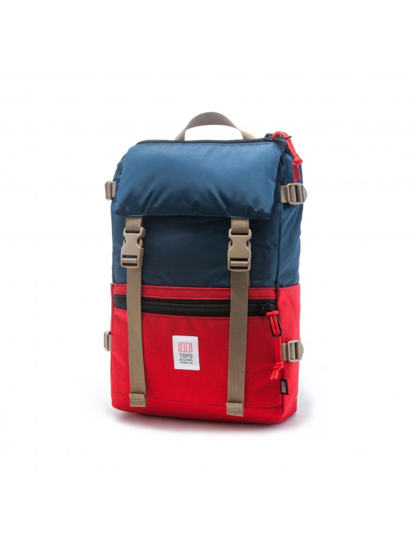 Topo Designs Rover Pack 20L : Navy / Red