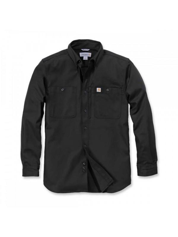 Carhartt Long Sleeved Work Shirt : Black