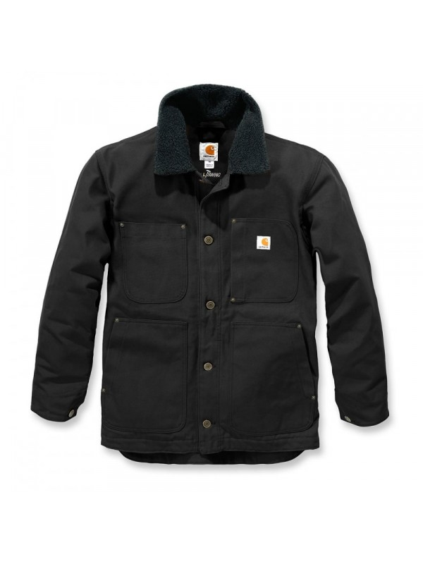 Carhartt Full Swing Chore Coat : Black