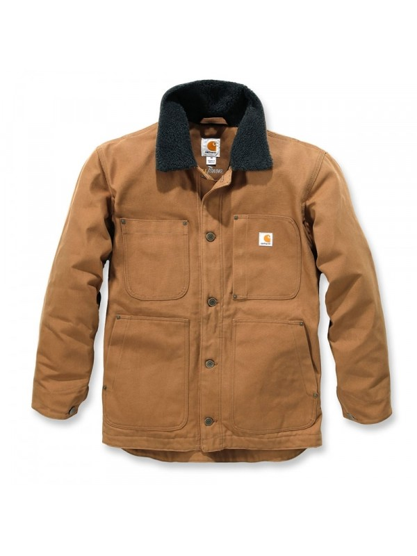 Carhartt Full Swing Chore Coat : Brown