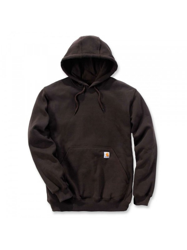 Carhartt  Midweight Hooded Sweatshirt : Dark Brown