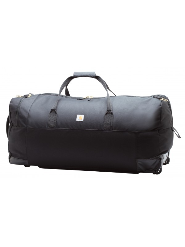 Carhartt Black Legacy Wheeled Gear Bag