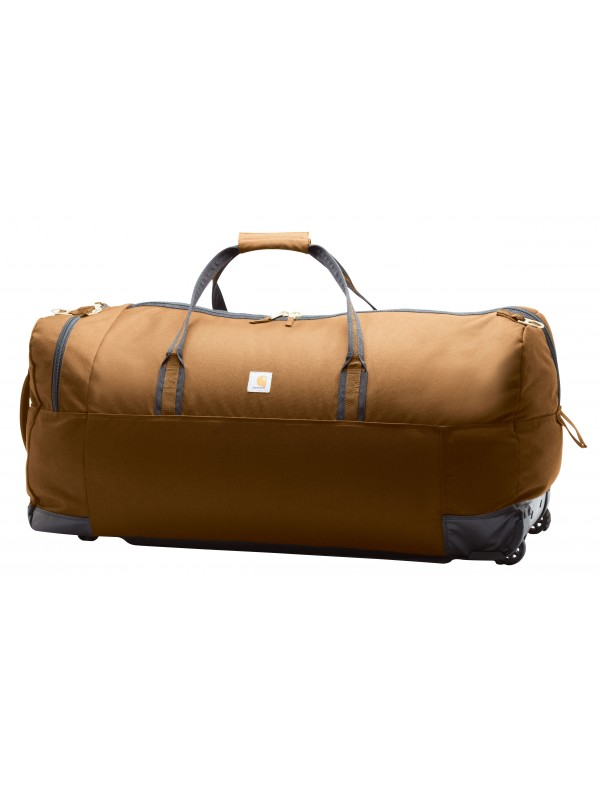 Carhartt Brown Legacy Wheeled Gear Bag