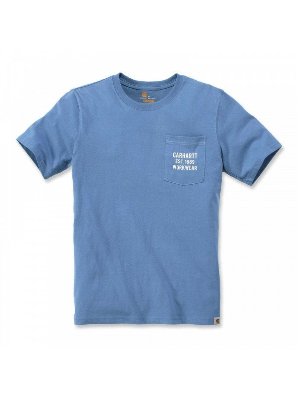 Carhartt Workwear Pocket Graphic T-Shirt : French Blue