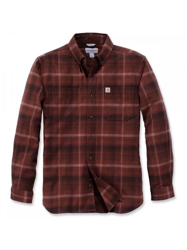 Carhartt Plaid Long Sleeve Shirt  : Dark Cedar
