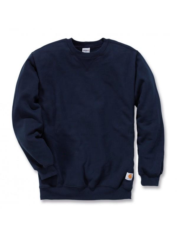 Carhartt Midweight Crewneck Sweatshirt : Navy
