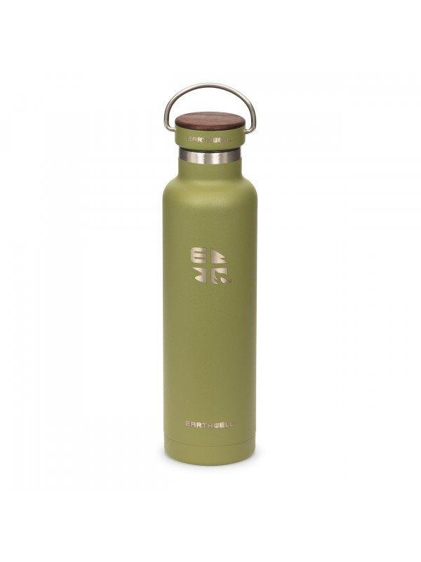 Earthwell 22oz Woodie Vacuum Bottle