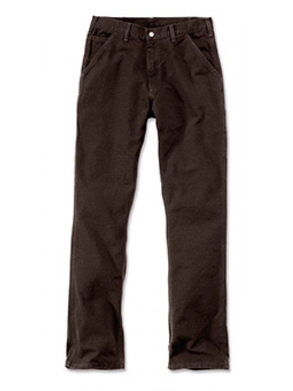 Carhartt Washed Work Pant : Dark Brown