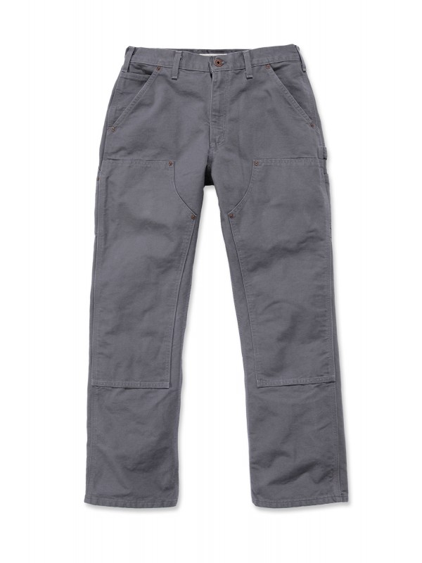 Carhartt Washed Double Front Pant : Gravel