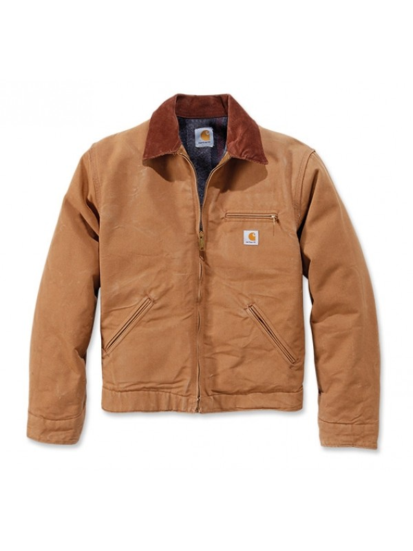 Carhartt Duck Detroit Jacket : Brown