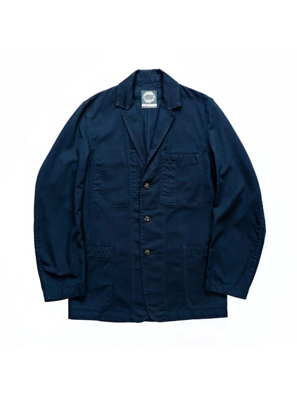 Yarmouth Oilskins Engineer Jacket – Navy