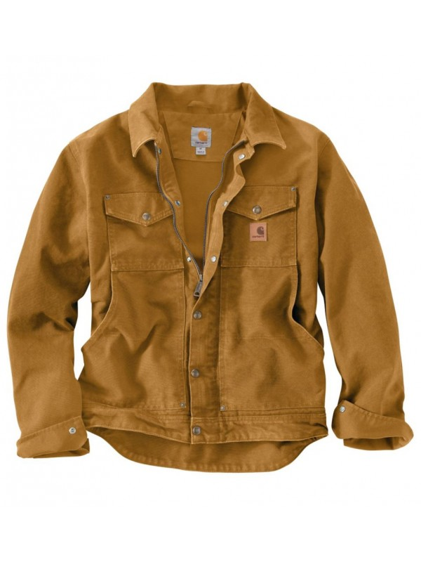 Carhartt Brown Berwick Jacket