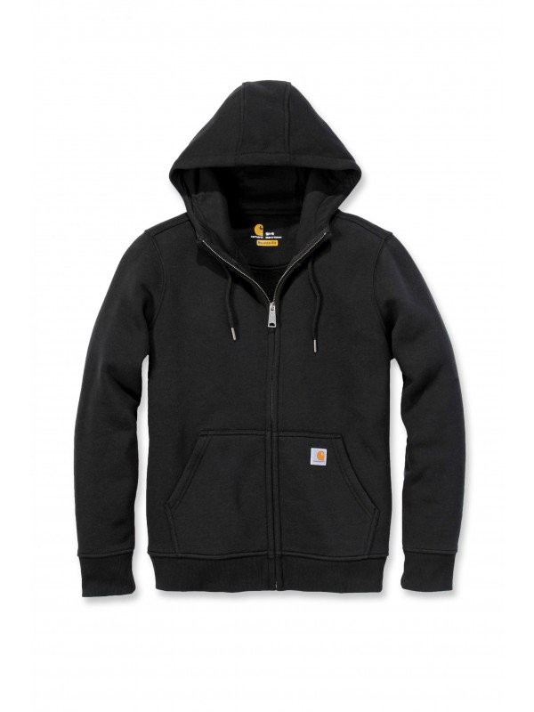 Carhartt Womens Clarksburg Full Zip Hoodie Black