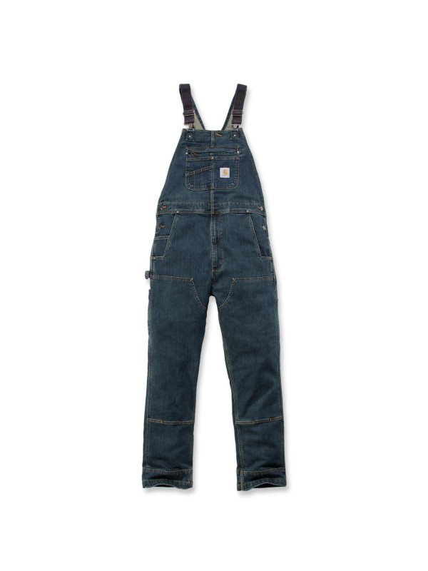 Carhartt Denim Dungaree : Dark Wash