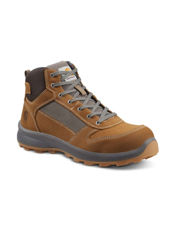 Carhartt Michigan Mid Safety Boot : Brown - VAT FREE