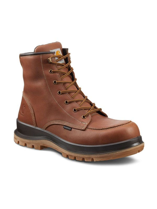 Carhartt Hamilton Waterproof Safety Boot : Tan - VAT FREE