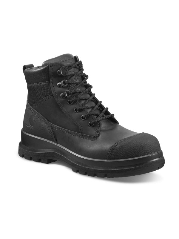 "Carhartt Detroit 6"" Safety Boot : Black - VAT FREE"