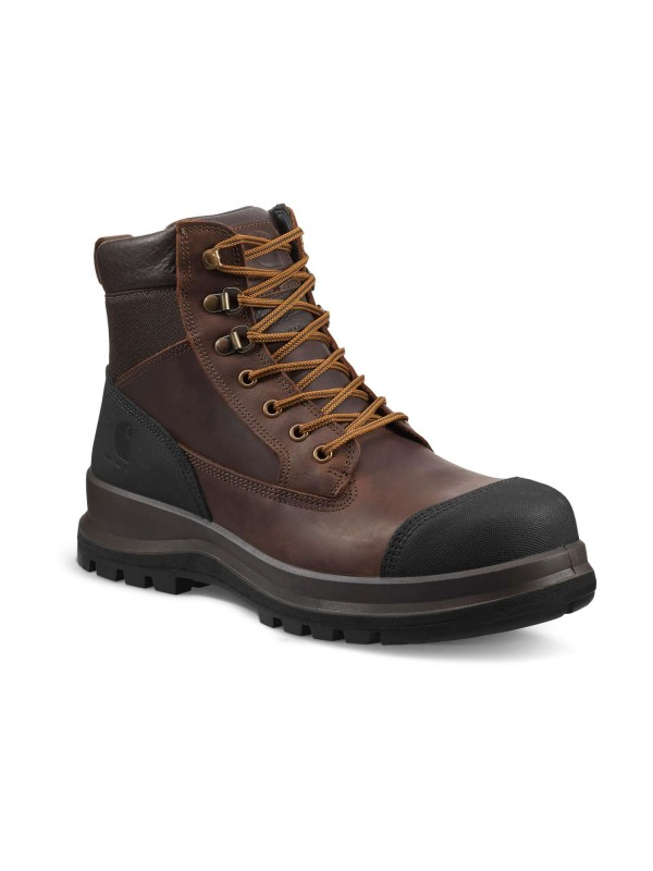 "Carhartt Detroit 6"" Safety Boot : Dark Brown - VAT FREE"